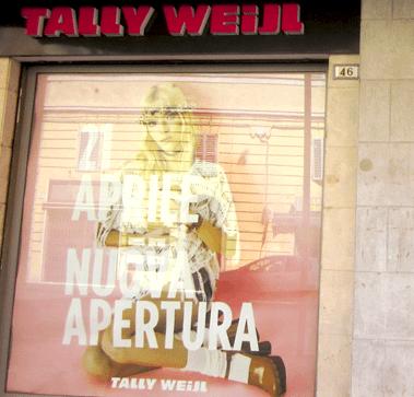 Tally Wejil realizzato da ricci sas